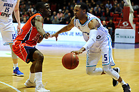 36 KM<br /> GRONINGEN - Basketbal, Donar New Heroes Den Bosch, kwartfinale NBB beker, seizoen 2018-2019, 14-01-2019, Donar speler Teddy Gipson