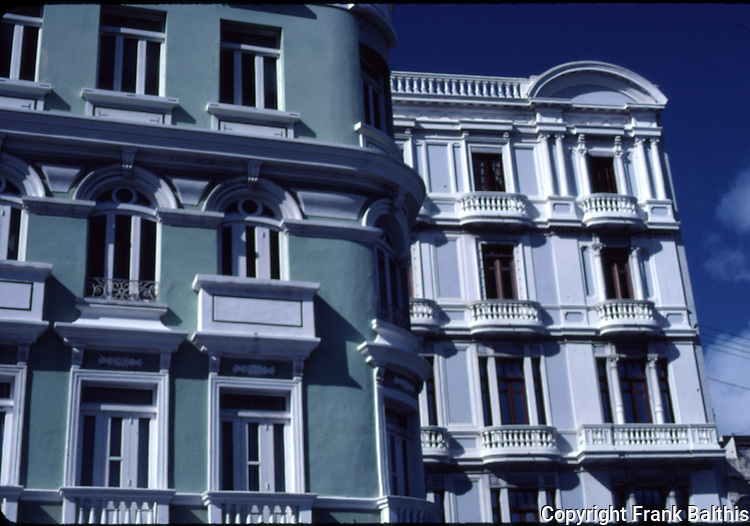 Buildings in Old San Juan