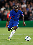 Chelsea's N'Golo Kante in action during the champions league match at Stamford Bridge Stadium, London. Picture date 12th September 2017. Picture credit should read: David Klein/Sportimage