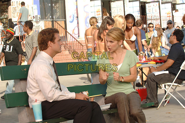 CHRIS O'DONNELL & RHEA SEEHORN.in Head Cases..*Editorial Use Only*.www.capitalpictures.com.sales@capitalpictures.com.Supplied by Capital Pictures.