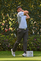 Bryson DeChambeau (USA) watches his tee shot on 12 during round 2 of the World Golf Championships, Mexico, Club De Golf Chapultepec, Mexico City, Mexico. 2/22/2019.<br /> Picture: Golffile | Ken Murray<br /> <br /> <br /> All photo usage must carry mandatory copyright credit (© Golffile | Ken Murray)
