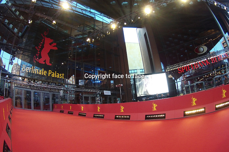 """Atmosphere at the red carpet for the movie """"The Grand Budapest Hotel"""" at the Berlinale Palast in Berlin. Credit: Schaube/face to face"""