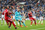 30th September 2017, The Hawthorns, West Bromwich, England; EPL Premier League football, West Bromwich Albion versus Watford; Richarlison of Watford scores the equaliser in the last minute of injury time to make it 2-2