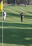 August 3, 2012: Craig Barlow from Henderson, Nevada, chips onto the 15th green during the second round of the 2012 Reno-Tahoe Open Golf Tournament at Montreux Golf & Country Club in Reno, Nevada.