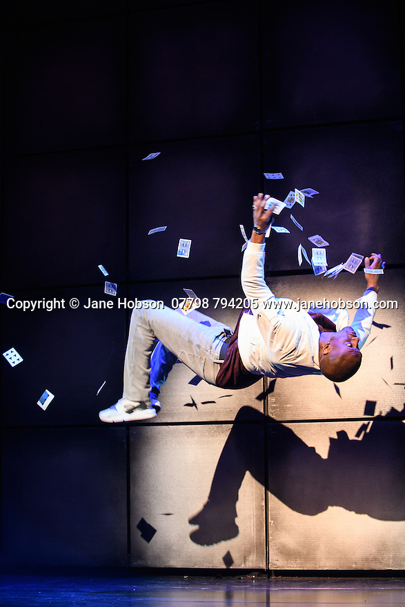 London, UK. 12.07.2016. Jamie Hendry and Gavin Kalin Productions present IMPOSSIBLE, at the Noel Coward Theatre. Following its West End season last year, the magic show returns to London this summer, running from Friday 8th July to Saturday 27th August. Opening night is Wednesday 13th July. The magicians are: Magical Bones, Jonathan Goodwin, Sabine van Diemen, Lance Corporal Richard Jones (winner of Britain's Got Talent 2016), Josephine Lee, Ben Hart, Chris Cox. Picture shows:  Magical Bones. Photograph © Jane Hobson.