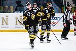 Stockholm 2014-01-08 Ishockey SHL AIK - Lule&aring; HF :  <br />  AIK:s Jacob Sp&aring;ngberg deppar<br /> (Foto: Kenta J&ouml;nsson) Nyckelord:  depp besviken besvikelse sorg ledsen deppig nedst&auml;md uppgiven sad disappointment disappointed dejected