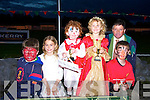 FANCY DRESS: Winners of the Kerry General Hospital fundraising nignt at the Dogs who were presented with their prizes by Leo Griffin on Friday night at the Kingdom Greyhound Stadium, Tralee. l-r: Patrick O'Mahony(Abbeydorney),Jessica Leahy (Listowel),Niamh Horgan(Abbeydorney),Jodie Leahy(Listowel),Leo Griffin(Tralee) and Alban Stack(Abbeydorney).   Copyright Kerry's Eye 2008