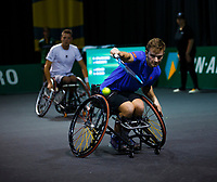 Rotterdam, The Netherlands, 11 Februari 2020, ABNAMRO World Tennis Tournament, Ahoy, <br /> Wheelchair tennis: Jef Vandorpe (BEL).<br /> Photo: www.tennisimages.com