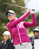 30th September 2017, Windross Farm, Auckland, New Zealand; LPGA McKayson NZ Womens Open, third round;  Swedens Madelene Sagstrom