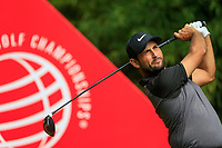 Alexander Levy (FRA) on the 2nd tee during the 2nd round at the WGC HSBC Champions 2018, Sheshan Golf CLub, Shanghai, China. 26/10/2018.<br /> Picture Fran Caffrey / Golffile.ie<br /> <br /> All photo usage must carry mandatory copyright credit (&copy; Golffile | Fran Caffrey)