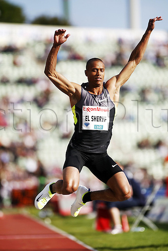 07.06.2012. Paris, France.   Diamond League Bislett Games Sheryf El Sheryf UKR  Triple Jump  Athletics