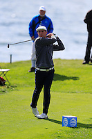 Bryson DeChambeau (USA) tees off the 8th tee at Pebble Beach Golf Links during Saturday's Round 3 of the 2017 AT&amp;T Pebble Beach Pro-Am held over 3 courses, Pebble Beach, Spyglass Hill and Monterey Penninsula Country Club, Monterey, California, USA. 11th February 2017.<br /> Picture: Eoin Clarke | Golffile<br /> <br /> <br /> All photos usage must carry mandatory copyright credit (&copy; Golffile | Eoin Clarke)