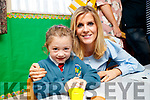 Trish and her mother Roisin McCarthy, Tralee, at Scoil Eoin Balloonagh, Tralee on Wednesday morning last.
