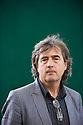 Sebastian Barry,Poet, ,Novelist,author and writer of the book The Secret Scripture at The Edinburgh International Book Festival 2009.CREDIT Geraint Lewis