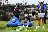 Phillis Meti long drive demonstration during the Anita Boon Pro-Am, North Shore Golf Course, Auckland, New Zealand Thursday 21 September 2017.  Photo: Simon Watts/www.bwmedia.co.nz