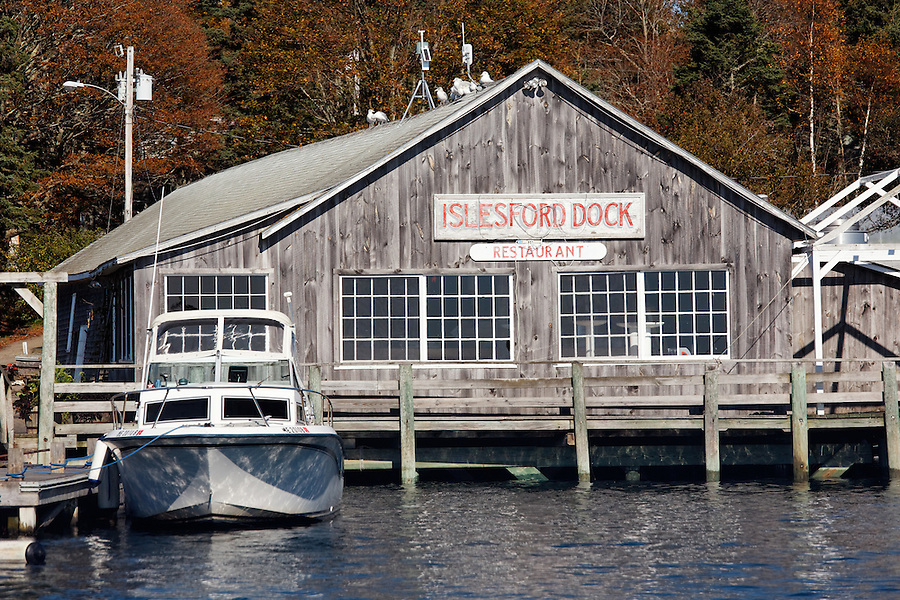 Isleford Dock Restaurant, Isleford, Maine