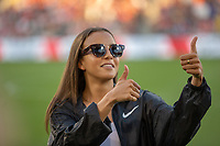 Commerce City, CO - Monday, July 15, 2019: Mallory Pugh is honored before the game. The Colorado Rapids fall to Arsenal FC by a score of 3-0 during a international exhibit game at Dick's Sporting Goods Park (DSGP).