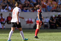 Houston, TX - Sunday Oct. 09, 2016: Christine Nairn during the National Women's Soccer League (NWSL) Championship match between the Washington Spirit and the Western New York Flash at BBVA Compass Stadium. The Western New York Flash win 3-2 on penalty kicks after playing to a 2-2 tie.