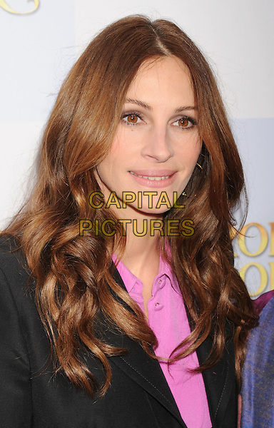 """Julia Roberts.""""Mirror Mirror"""" Los Angeles Premiere held at Grauman's Chinese Theatre, Los Angeles, California, USA,.17th March 2012.portrait headshot pink shirt black jacket .CAP/ROT/TM.©Tony Michaels/Roth Stock/Capital Pictures"""