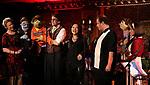 Jennifer Barnhart, Rick Lyon, Erin Quill, Jordan Gelber and Stephanie D'Abruzzo during the 'Avenue Q' 15th Anniversary Reunion Concert at Feinstein's/54 Below on July 30, 2018 in New York City.