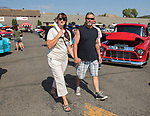 Diana and Wes during the Hot August Nights Pre-Kickoff Party at the Bonanza Casino in Reno, Nevada on Sunday, August 6, 2017.