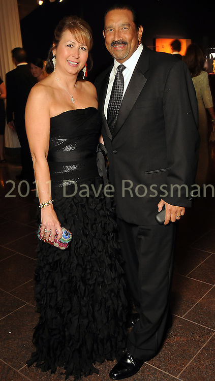 Ileana and Mike Trevino at the Museum of Fine Arts Houston 's 2010 Grand Gala Ball  Friday Oct. 01, 2010. (Dave Rossman/For the Chronicle)