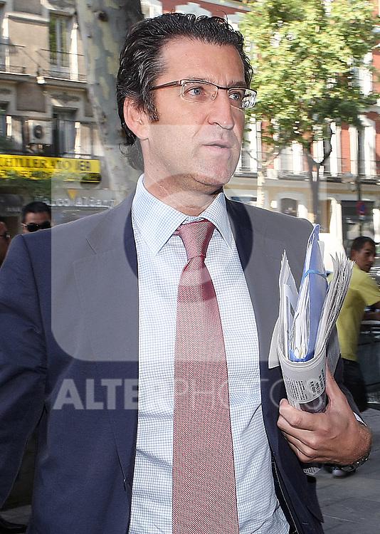 Alberto Nunez Feijo durante el Comite Ejecutivo Nacional del PP..(ALTERPHOTOS/Acero).