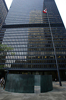 the Toronto Dominion Centre between King Street West and wellington  in downtown Toronto.<br />