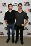 """Rick Kuperman and Jeff Kuperman attends the Photo Call for the MCC Theater's World Premiere production of """"Alice by Heart"""" at the New 42nd Street Studios on December 17, 2018 in New York City."""