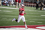 Wisconsin Badgers running back Jonathan Taylor (23) scores a touchdown during an NCAA College Football game against the Florida Atlantic Owls Saturday, September 9, 2017, in Madison, Wis. The Badgers won 31-14. (Photo by David Stluka)