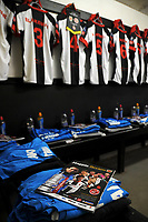 Chorley dressing room ahead of the match during Chorley vs Fleetwood Town, Emirates FA Cup Football at Victory Park on 6th November 2017
