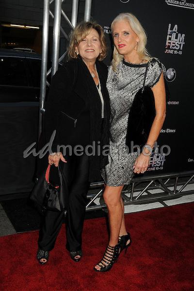 "10 June 2015 - Los Angeles, California - Brenda Vaccaro, Deborah Peeler. LA Film Festival 2015 Opening Night Premiere of ""Grandma"" held at Regal Cinemas LA Live. Photo Credit: Byron Purvis/AdMedia"