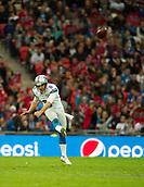 26.10.2014.  London, England.  NFL International Series. Atlanta Falcons versus Detroit Lions. Lions' P Sam Martin [6] punts.