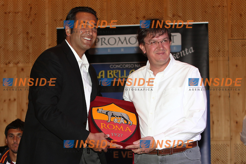 Ceo Italo Zanzi <br /> Riscone (Brunico) 15.7.2013 <br /> Football Calcio 2013/2014 Serie A<br /> Presentazione Squadra <br /> As Roma introduction to supporters <br /> Foto Gino Mancini / Insidefoto