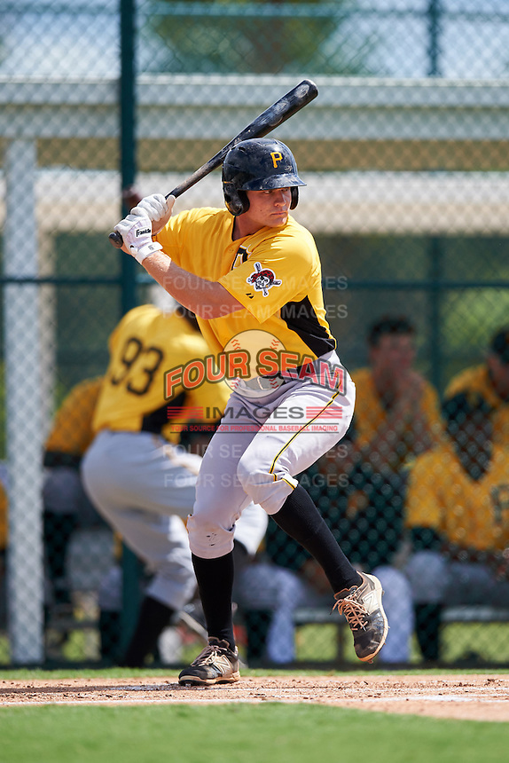 Pittsburgh Pirates Arden Pabst (89) during an Instructional League Intrasquad Black & Gold game on September 28, 2016 at Pirate City in Bradenton, Florida.  (Mike Janes/Four Seam Images)