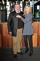 Ray Winstone and Amanda Redman at the Bravo 22 launch at the Waterside Theatre, Aylesbury, Buckinghamshire on January 17th 2015<br /> <br /> Photo by Keith Mayhew