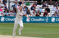 Peter Siddle of Essex celebrates taking the wicket of Harry Brook during Essex CCC vs Yorkshire CCC, Specsavers County Championship Division 1 Cricket at The Cloudfm County Ground on 9th July 2019