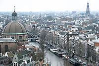 Nederland - Amsterdam - 24 maart 2018.  De Sonesta koepel, het Singel en de Jordaan.    Foto Berlinda van Dam Hollandse Hoogte