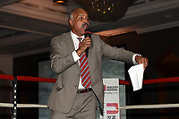 John Conteh during a Charity Dinner Boxing Show at the Hilton Hotel on 13th November 2017