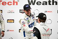 #66 Chip Ganassi Racing Ford GT, GTLM: Dirk Müller, #3 Corvette Racing Chevrolet Corvette C7.R, GTLM: Antonio Garcia