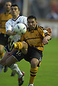 13/08/2002                   Copyright Pic : James Stewart.File Name : stewart-alloa v ross cty 09.ALLOA'S  CRAIG VALENTINE CLEARS FROM STEVEN MACKAY....Payments to :-.James Stewart Photo Agency, 19 Carronlea Drive, Falkirk. FK2 8DN      Vat Reg No. 607 6932 25.Office     : +44 (0)1324 570906     .Mobile  : +44 (0)7721 416997.Fax         :  +44 (0)1324 570906.E-mail  :  jim@jspa.co.uk.If you require further information then contact Jim Stewart on any of the numbers above.........
