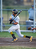 Lakewood Spartans outfielder Julian Jackson (9) during a game against the Boca Ciega Pirates at Boca Ciega High School on March 2, 2016 in St. Petersburg, Florida.  (Copyright Mike Janes Photography)