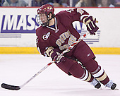 Benn Ferreiro - The Boston College Eagles defeated the University of Massachusetts-Lowell River Hawks 4-3 in overtime on Saturday, January 28, 2006, at the Paul E. Tsongas Arena in Lowell, Massachusetts.
