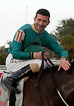 Feb 2011:  Expansion and Gerard Melancon (11) after winning the Fair Grounds Handicap at the Fairgrounds in New Orleans, Louisiana.