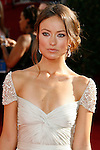 LOS ANGELES, CA. - September 21: Actress Olivia Wilde arrives at the 60th Primetime Emmy Awards at the Nokia Theater on September 21, 2008 in Los Angeles, California.