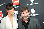 MADRID, SPAIN - JANUARY 16: Actress Belen Cuesta and actor Antonio de la Torre attends Feroz awards 2020 red carpet at Teatro Auditorio Ciudad de Alcobendas on January 16, 2020 in Madrid, Spain.<br /> (David Jar / Alterphotos)