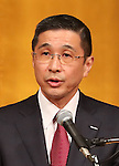 FILE: Hiroto Saikawa to be new Nissan President<br /> January 5, 2017, Tokyo, Japan - This picture taken on January 5, 2017 shows Japan's auto giant Nissan Motor vice chairman Hiroto Saikawa at a New Year party of automobile manufactures association in Tokyo. Saikawa will become Nissan's president on April 1 while Nissan president and chairman Carlos Ghosn will be chaiman, news reported.   (Photo by Yoshio Tsunoda/AFLO) LwX -ytd-