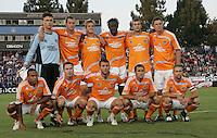 Houston Dynamo Starting ElevenSan Jose Earthquakes tied Houston Dynamo 1-1 at Buck Shaw Stadium in Santa Clara, California. September 13, 2008.