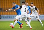 St Johnstone v Inverness Caledonian Thistle...20.12.14   SPFL<br /> Lee Croft and Graeme Shinnie<br /> Picture by Graeme Hart.<br /> Copyright Perthshire Picture Agency<br /> Tel: 01738 623350  Mobile: 07990 594431