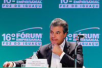 FOZ DO IGUA&Ccedil;U, PR, 21.04.2017 &ndash; LIDE - 16&ordm; F&oacute;rum Empresarial Foz do Igua&ccedil;u<br />  &ndash;   O governador do Paran&aacute;, Beto Richa (PSDB-PR), durante o 16&ordm; F&oacute;rum Empresarial Foz do Igua&ccedil;u, na manh&atilde; desta sexta-feira (21). (Foto: Paulo Lisboa/Brazil Photo Press)